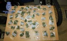 Seis detenidos en Plasencia acusados de «trapichear» con marihuana y hachís