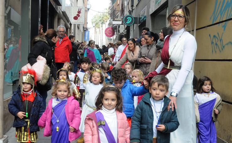 Desfile infantil en Mérida