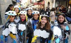 Los más pequeños disfrutan del Carnaval Romano