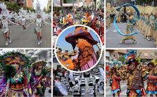 Orden del desfile de comparsas de Badajoz