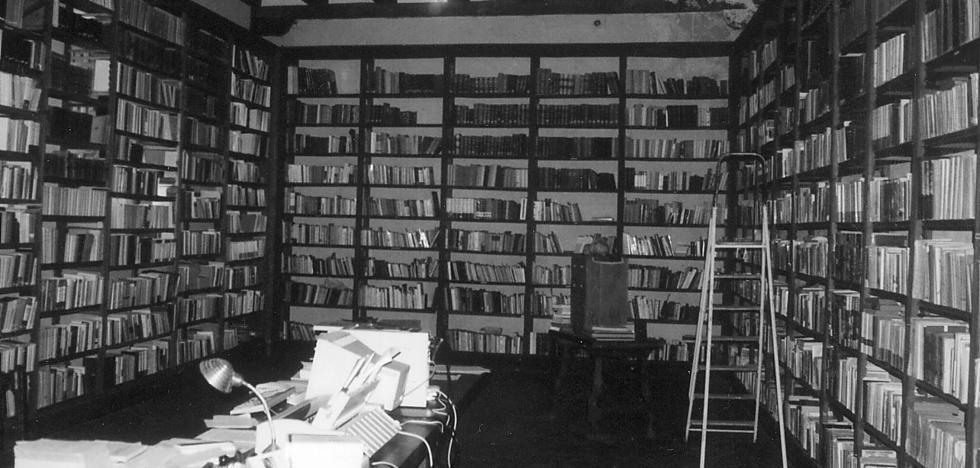 La Junta quiere que Yuste recupere los 40.000 volúmenes de su biblioteca trasladados a Madrid