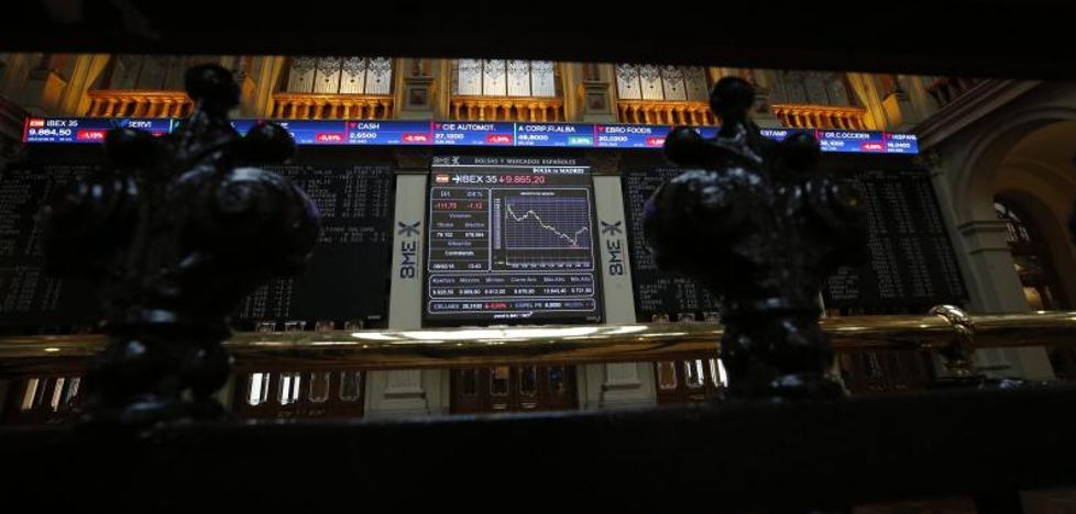 Wall Street contagia al Ibex-35, que cae un 5,6% en la semana