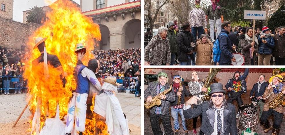 Las Lavanderas rescatan la figura femenina de 'La Febrera'