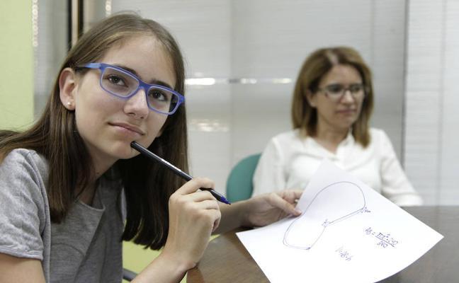 Sara Vicente, una alumna con medallas que traspasan las fronteras extremeñas