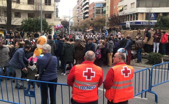 78 personas han sido atendidas durante el desfile de comparsas del Carnaval de Badajoz