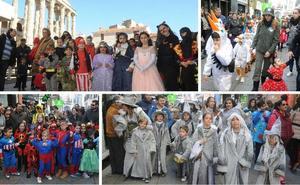 Las calles de Mérida acogen el gran desfile infantil
