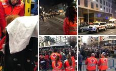 Cruz Roja realiza 113 intervenciones en el Carnaval de Badajoz, un 25% más que el año pasado