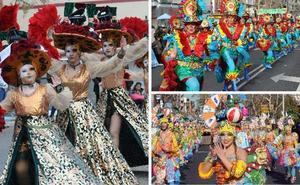 'Los Nuevos Cariocas' brillan en el pasacalles de Mérida y se alzan con el primer premio