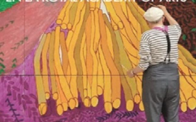 Proyección en Cáceres de un documental sobre el pintor David Hockney