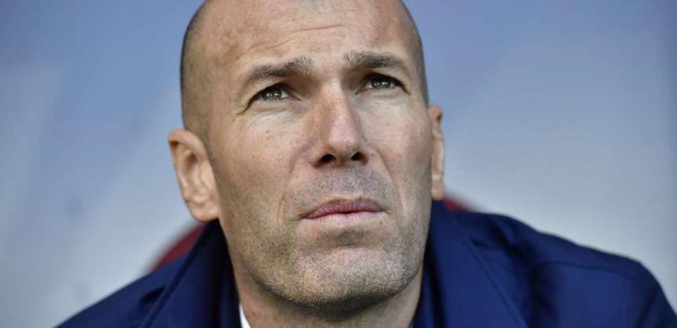 Zidane: «Yo soy el responsable de esta situación»