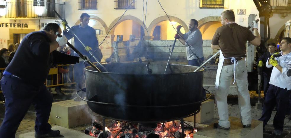El 'entierro de la bellota' pone hoy fin a cinco días de carnaval en Zafra
