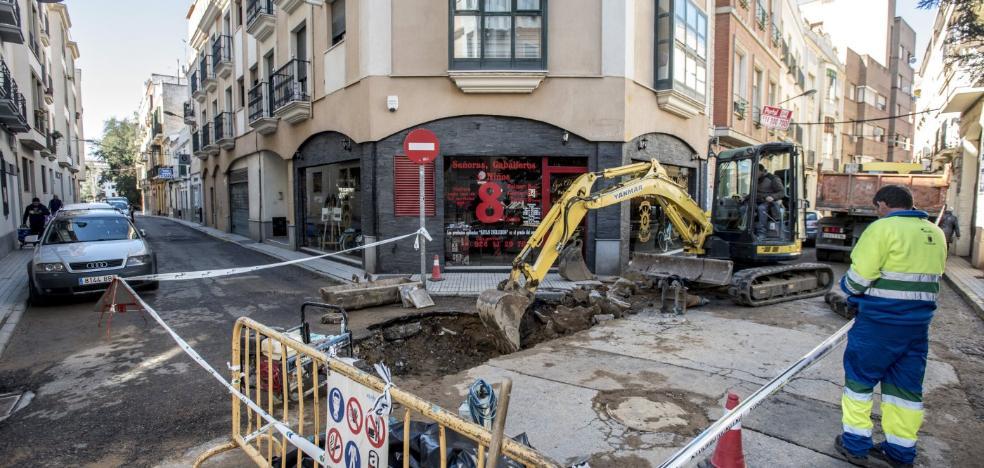 La tubería de Vasco Núñez se ha roto cinco veces este año
