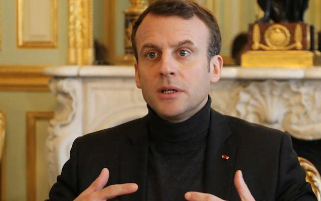 Macron dice que Francia «atacará» si hay «pruebas fehacientes» del uso de armas químicas en Siria