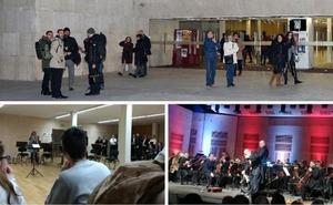 La Oex quiere seguir tocando en el Palacio de Congresos de Cáceres pese al frío