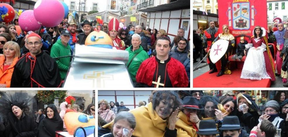 El Entierro de la Sardina resucita el Martes de Carnaval en Mérida