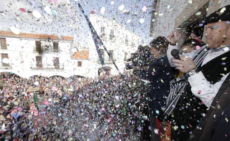 Malpartida de Cáceres disfruta de 'La pedida de la patatera'