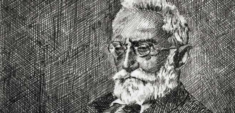 La Biblioteca Nacional recopila las cartas del joven Unamuno
