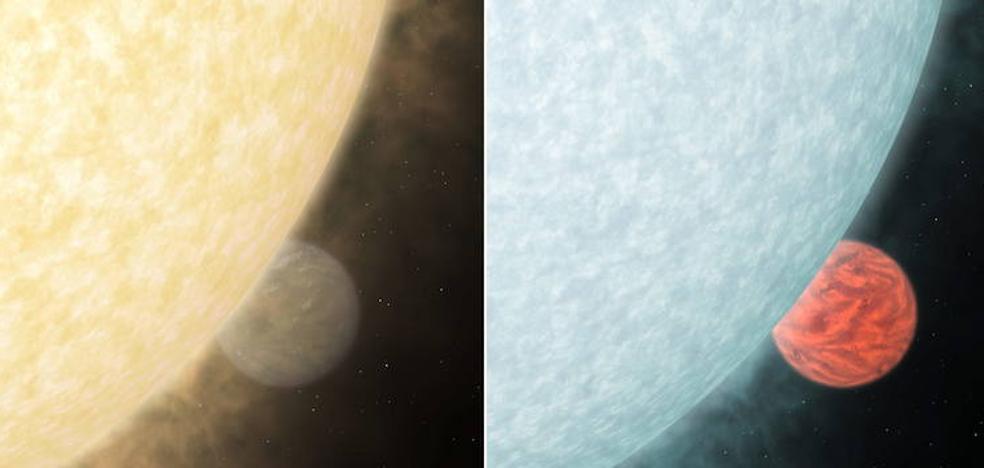 Detectan agua en la atmósfera de uno de los exoplanetas 'Júpiter calientes'