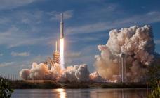 El acelerador del Falcon Heavy se estrelló por falta de combustible