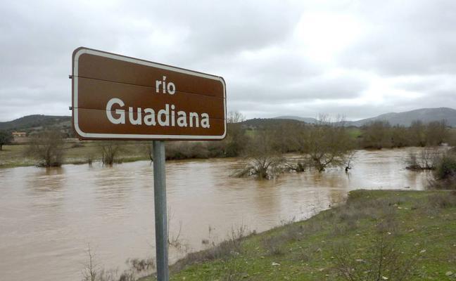 La reserva del Guadiana baja tres décimas durante la última semana