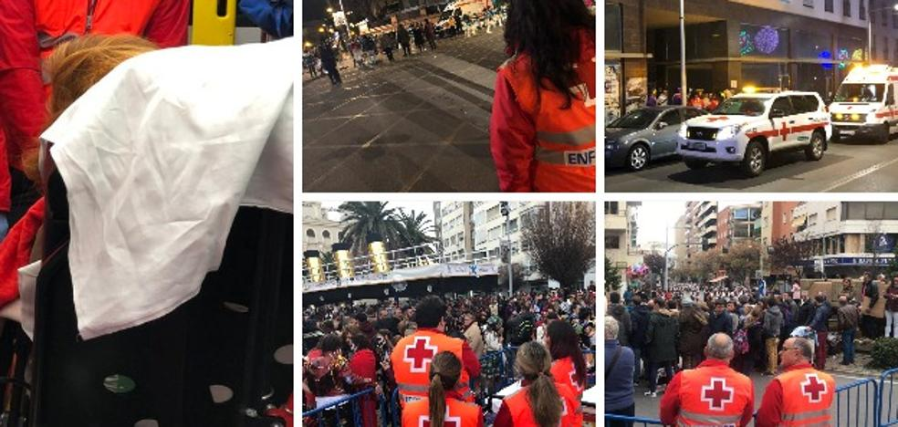 El Carnaval de Badajoz acaba con 161 asistencias y 29 derivados a centros sanitarios
