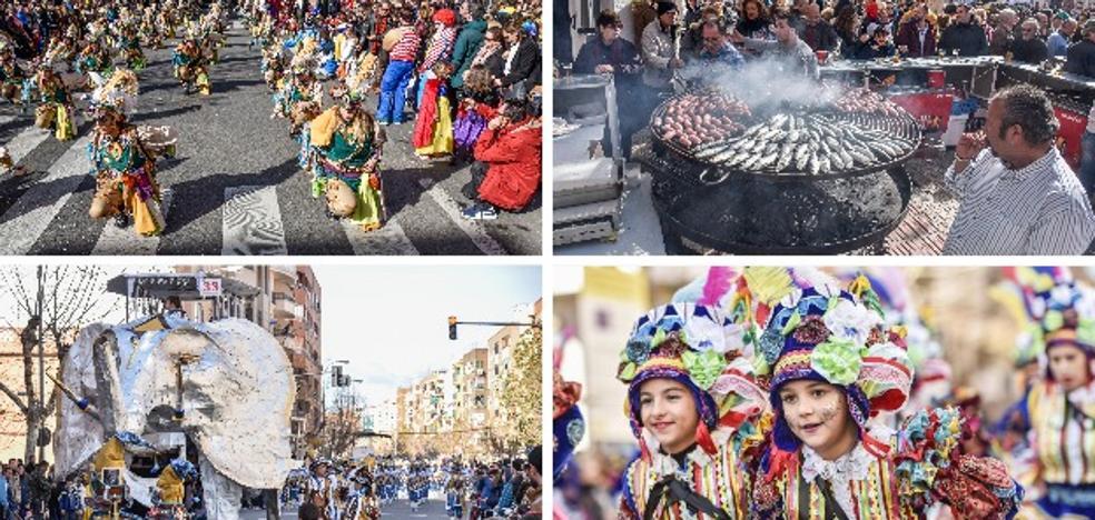 Miles de pacenses despiden el carnaval en San Roque