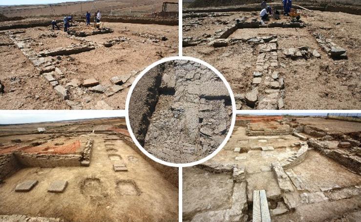 Yacimiento arqueológico de la antigua ciudad romana Contributa Iulia, en Medina de las Torres