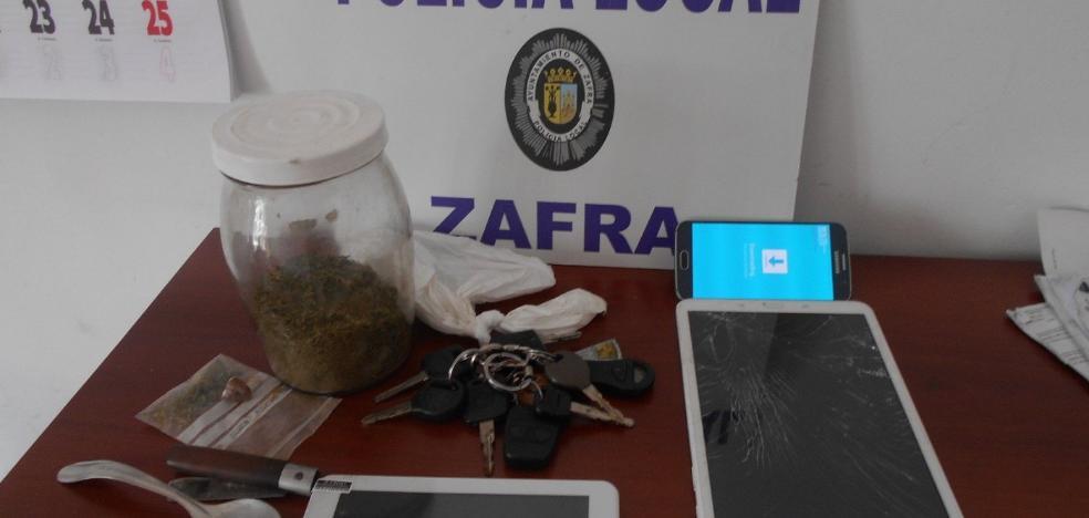 Detenido por circular de forma temeraria con un coche robado en Zafra
