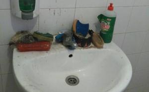 AUGC denuncia falta de higiene en unos aseos para guardias civiles en Badajoz