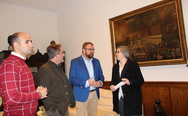 El Ayuntamiento de Mérida recupera su pintura más antigua