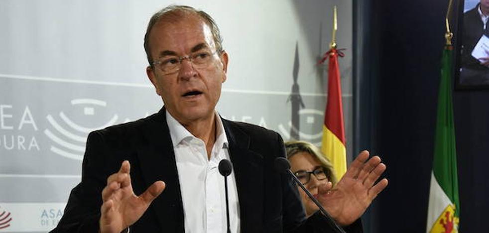 Monago indica que el proyecto de Tierra de Barros debe hacerlo la Junta