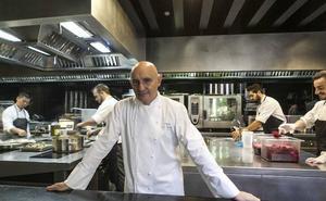 El chef extremeño Toño Pérez, miembro del jurado del Concurso Cocinero del Año
