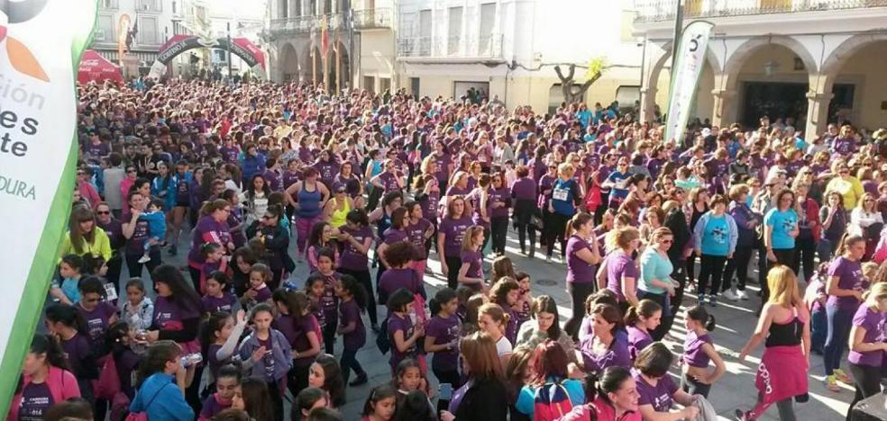 La primera quedada de la Carrera de la Mujer será este sábado en Don Benito