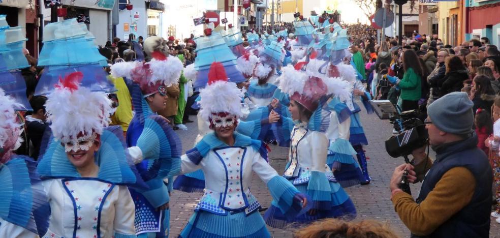 Los desfiles del carnaval de Navalmoral suman cerca de 34.000 espectadores