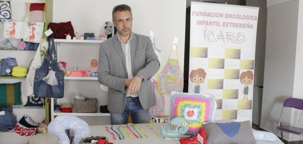 La fundación Ícaro venderá en Zafra productos artesanales para recaudar fondos