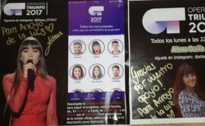 Aitana, segunda finalista de Operación Triunfo, nieta de arroyanos