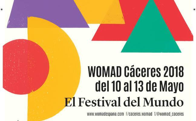 Marc Bressant vuelve a diseñar el cartel del Festival Womad 2018