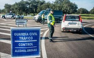 50 conductores dan positivo en drogas y otros 28 en alcoholemia durante los Carnavales de Badajoz