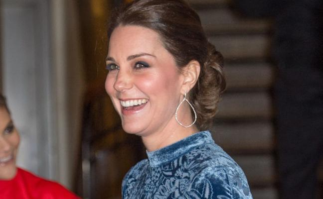 Kate Middleton pone de moda lo que usaba tu abuela