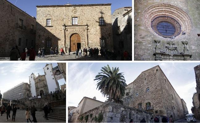 Los palacios de Cáceres