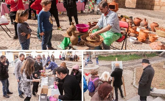 La Plaza de Santiago quiere acoger un mercado de artesanía periódico