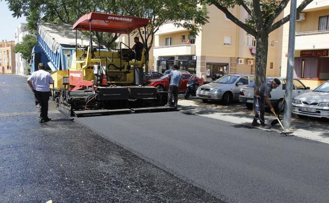 Una sentencia vuelve a retrasar el inicio del plan de asfaltado en Plasencia