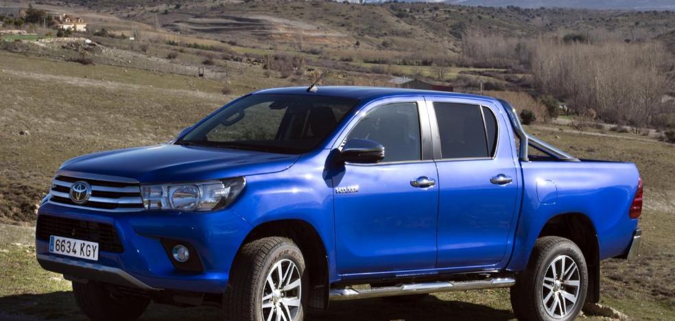 El líder de los 'pick-ups', el Toyota Hylux, actualiza su octava generación