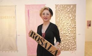 Exposición de Lourdes Murillo en la sala Pintores 10 de Cáceres