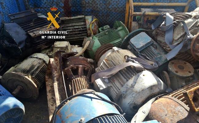 Tres detenidos en Villanueva de la Serena por el robo en una empresa sin actividad
