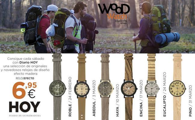 Colección de relojes 'Wood Watch'