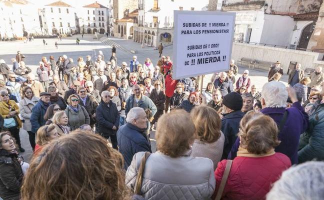 Jubilados de Mérida y comarca se organizan para luchar por unas pensiones dignas