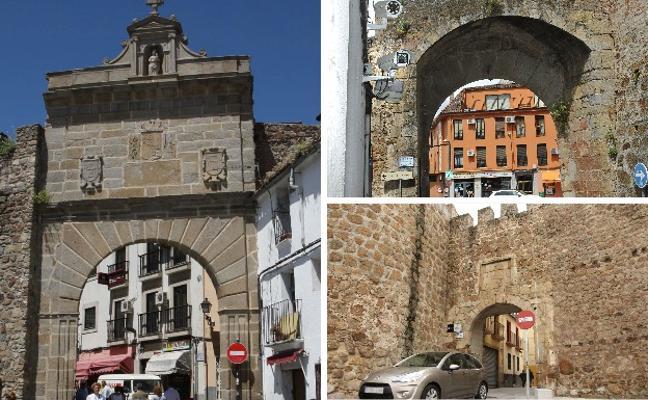 El Ayuntamiento de Plasencia y la Junta recuperarán nuevas zonas de muralla medieval