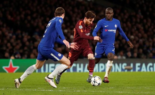 Messi empata para el Barça