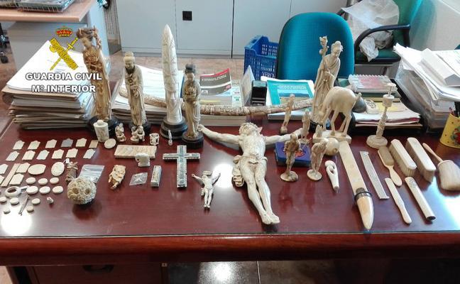 Recuperadas 20.000 obras de arte en Murcia en una operación internacional con 101 detenidos